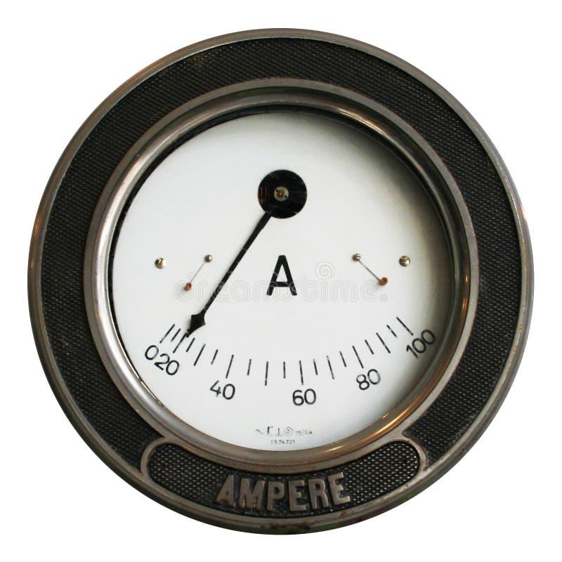 Amperemeter2 imagens de stock