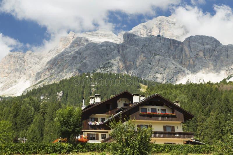 `Ampezzo del Cortina D fotografie stock