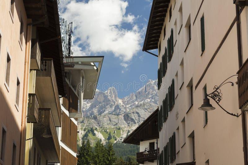 `Ampezzo del Cortina D fotografia stock