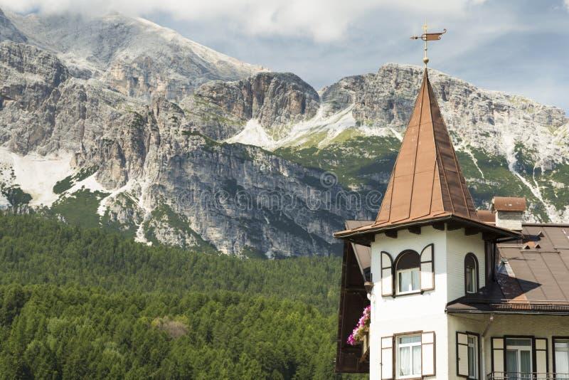 `Ampezzo del Cortina D immagini stock libere da diritti