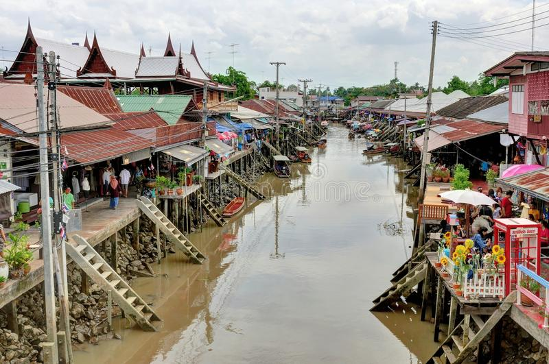 Download Amphawa Floting Market In Thailand Editorial Photography - Image: 25630057