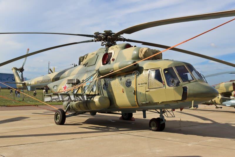 Amphibious Transport Helicopter Mi-8AMTSh Editorial Image