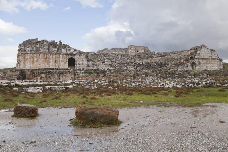 Amphiteater antiguo imagen de archivo