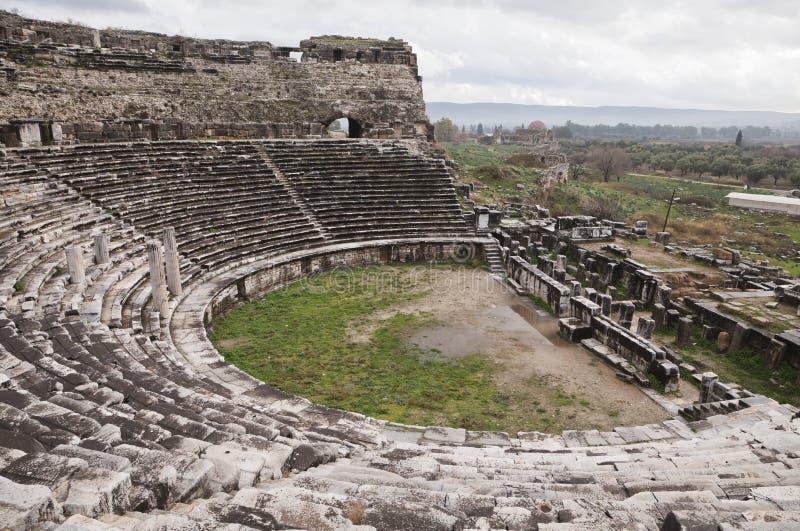 Amphiteater antiguo foto de archivo