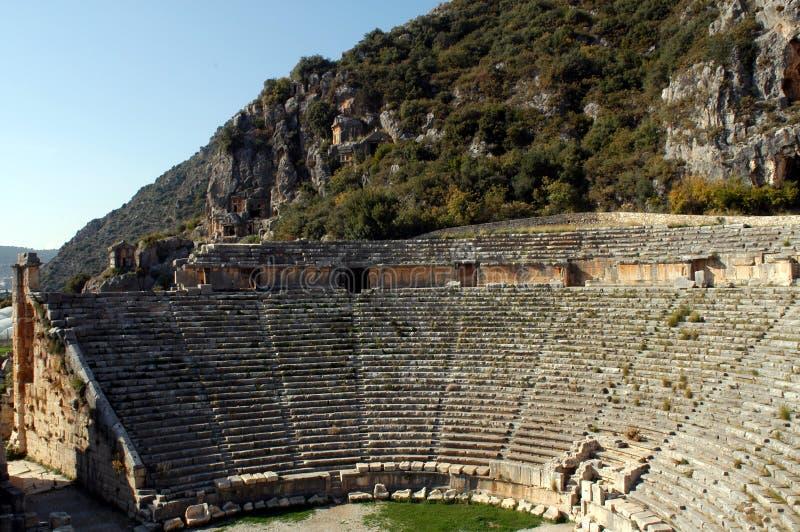 Amphiteatre stock afbeeldingen