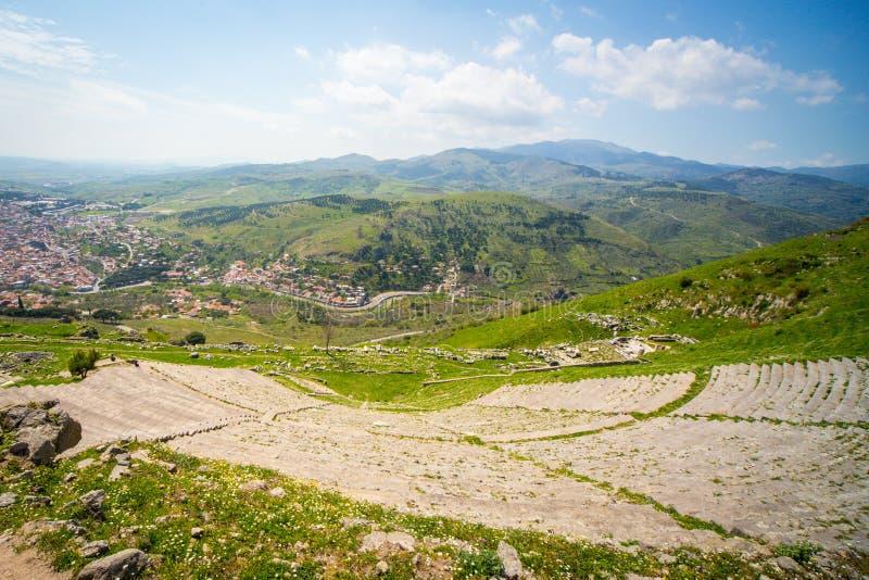 Amphiteatre, Pergamon fotos de stock