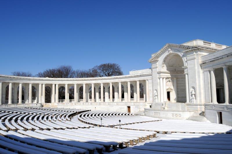 Amphithéâtre commémoratif images libres de droits