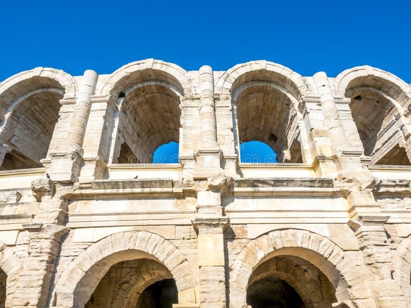 Amphithéâtre dans Arles, France photos libres de droits