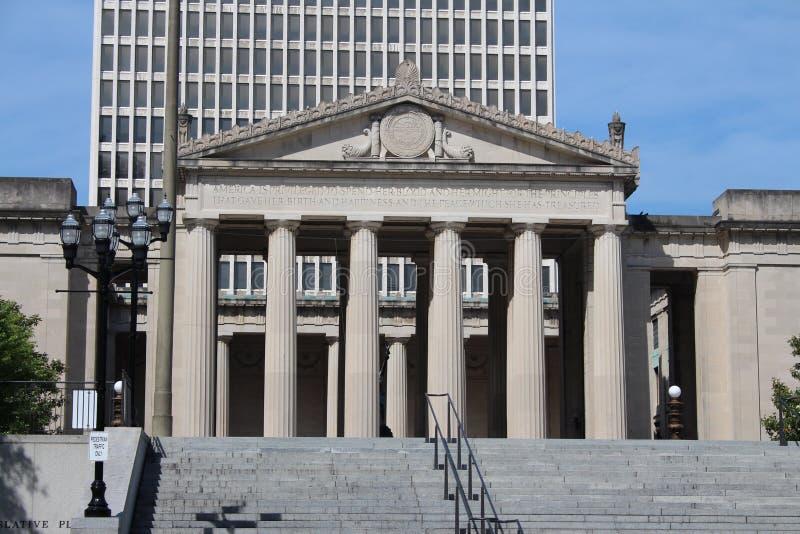 Amphithéâtre de mémorial de guerre de Nashville photos stock