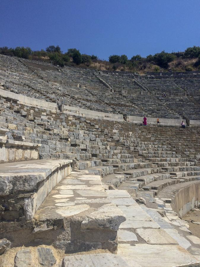 Amphithéâtre Ephesus IZMIR/TURKEY image libre de droits