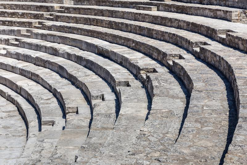 Amphithéâtre romain dans Arles, France photo libre de droits