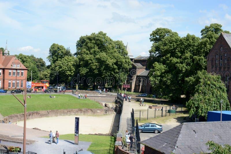 Download Amphithéâtre Romain De Chester Image éditorial - Image du john, gladiateur: 77163085