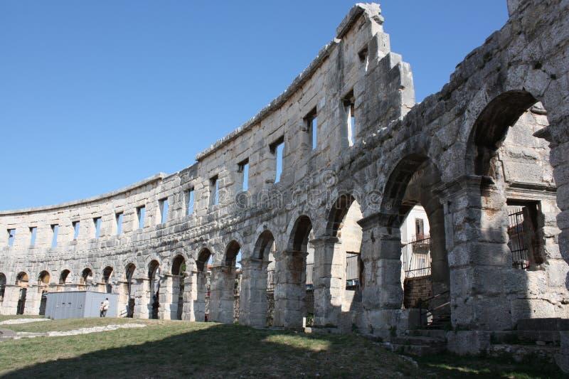 Amphitheater lizenzfreie stockfotografie
