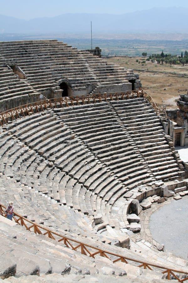 amphitheater royaltyfria bilder