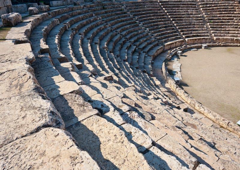 Amphitheater arkivfoto