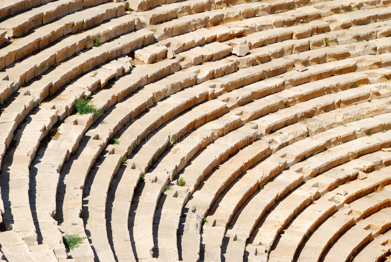 Amphitheater antigo imagem de stock royalty free