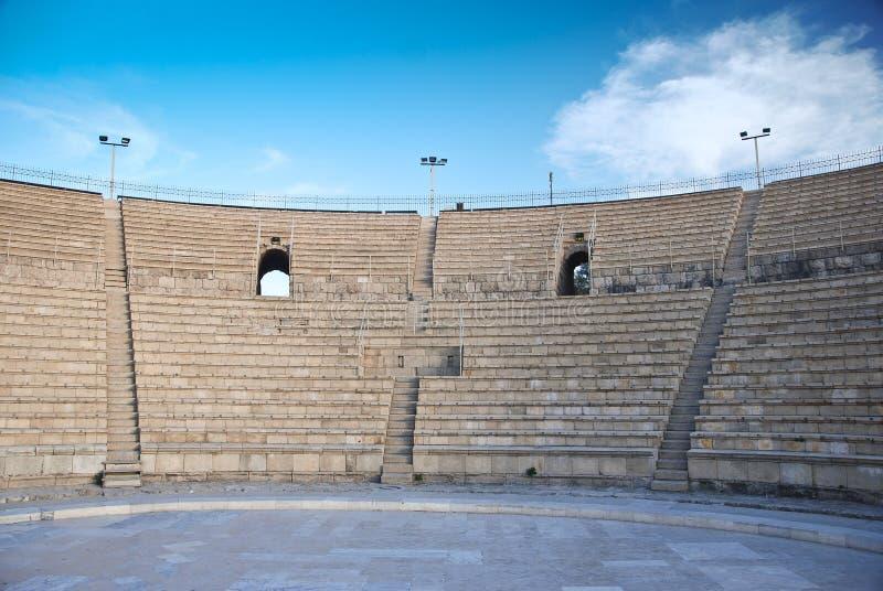 Amphitheater Caesarea royalty free stock photo