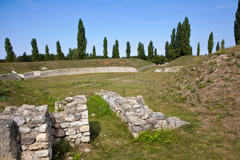 Amphitheater Carnuntum In Austria Stock Images