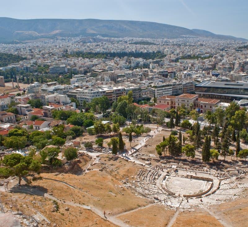 Amphitheater di Atene immagini stock libere da diritti