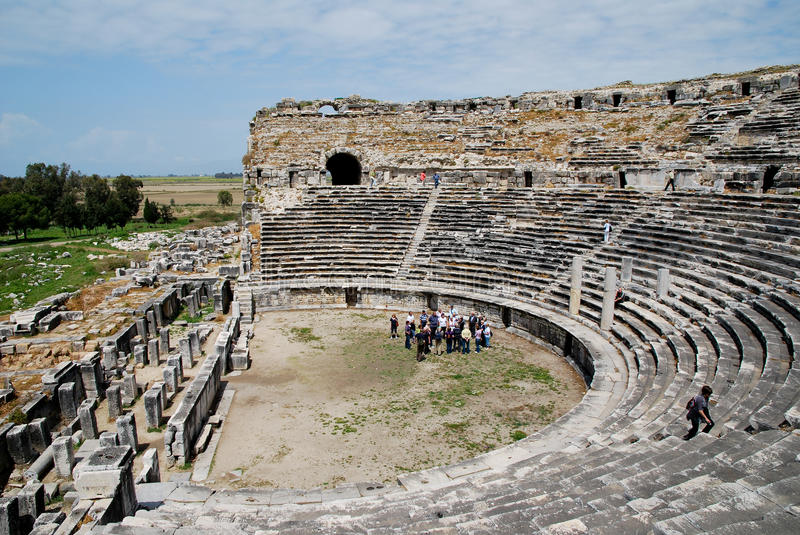 The amphitheater of Milet