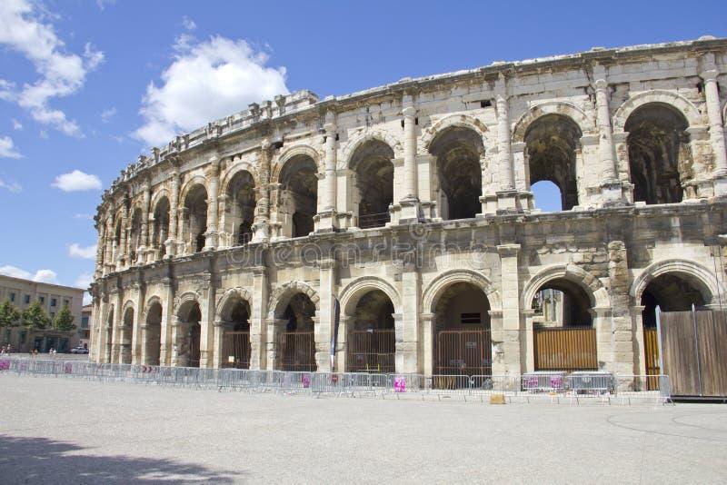 Amphitheater romano foto de stock