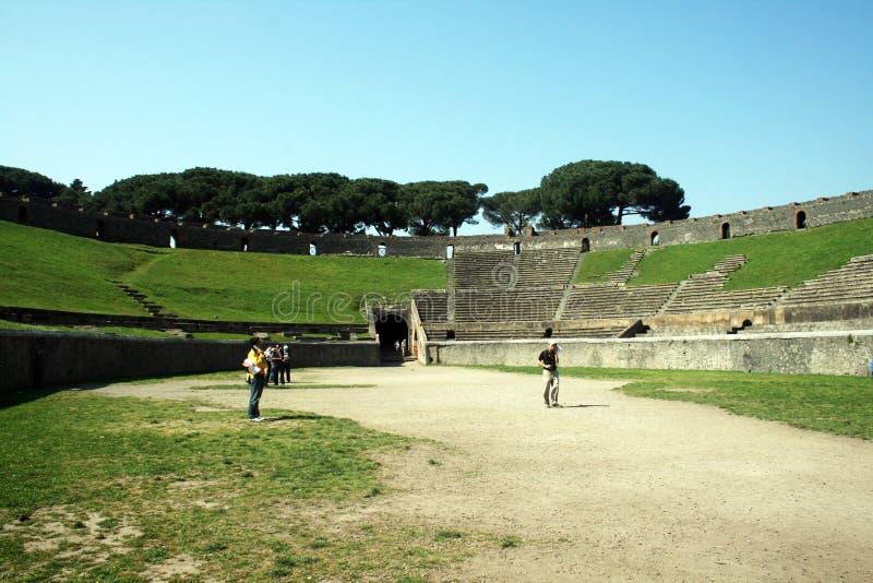 Amphitheater romano imagem de stock royalty free