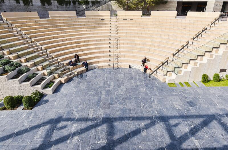 Amphitheater Seats Free Public Domain Cc0 Image