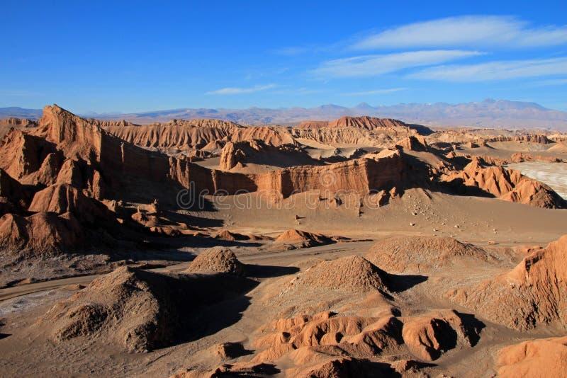 Amphitheater, Valle-De-La Luna, Tal des Mondes, Atacama-Wüste Chile stockfoto