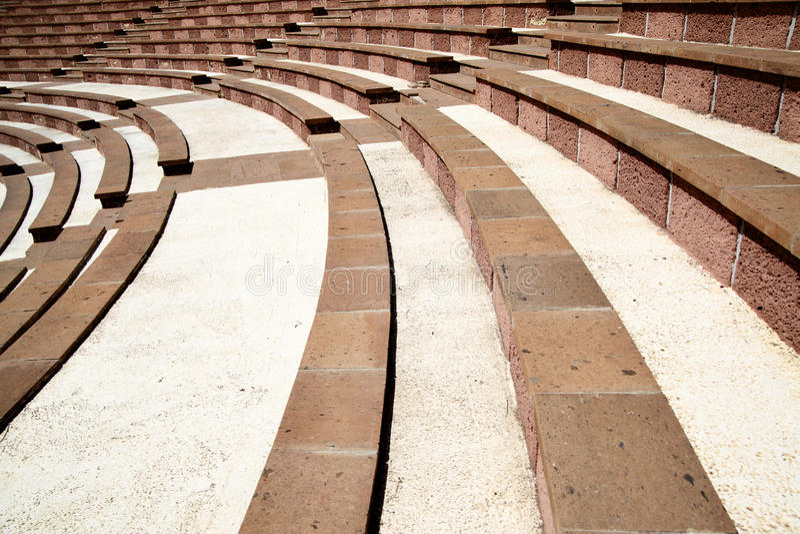 Amphitheatre Stockfotos