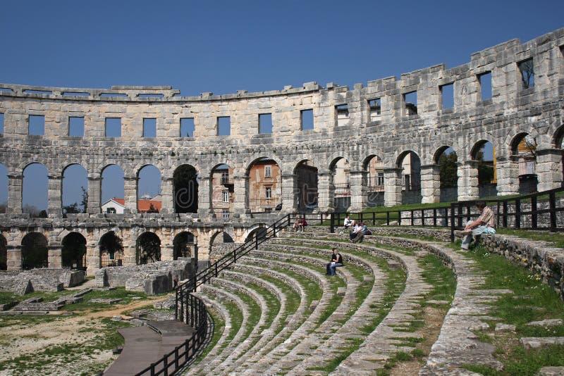 amphitheatre стоковая фотография rf