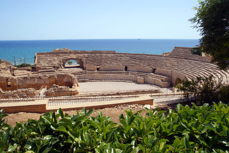 Amphitheatre royalty-vrije stock foto