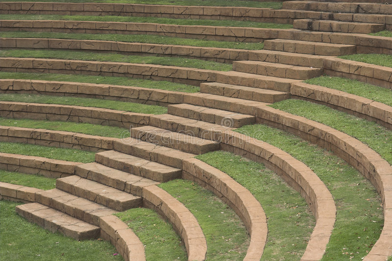 Amphitheatre image stock