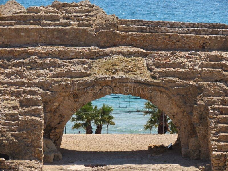 amphitheatre royalty-vrije stock afbeelding