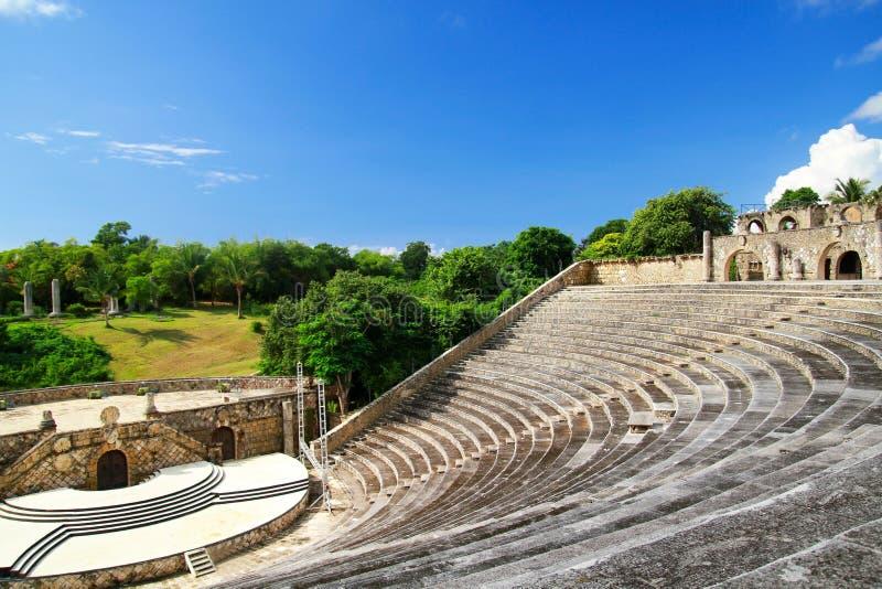 Amphitheatre in Altos de Chavon. Casa de Campo stock image