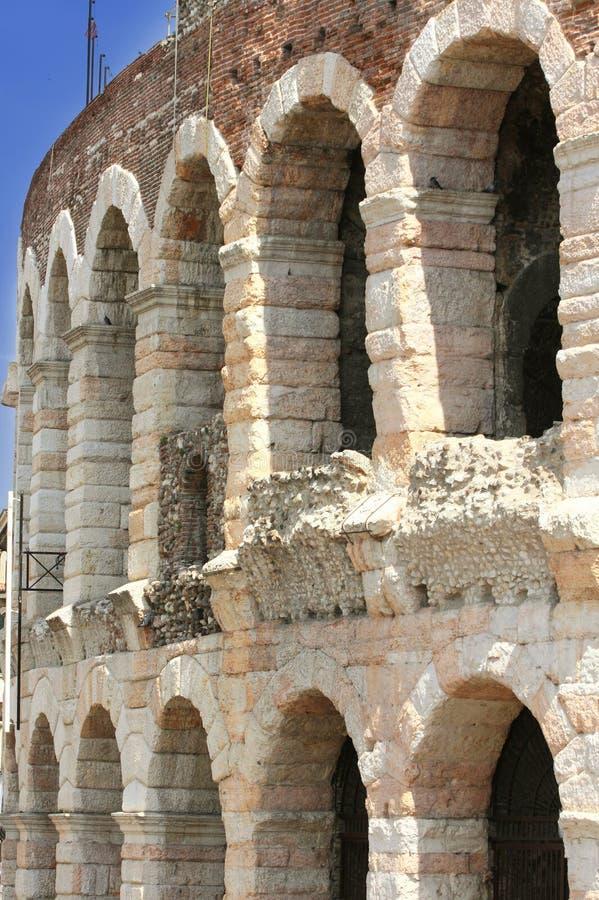 Amphitheatre-Arena in Verona, Italien stockfotografie