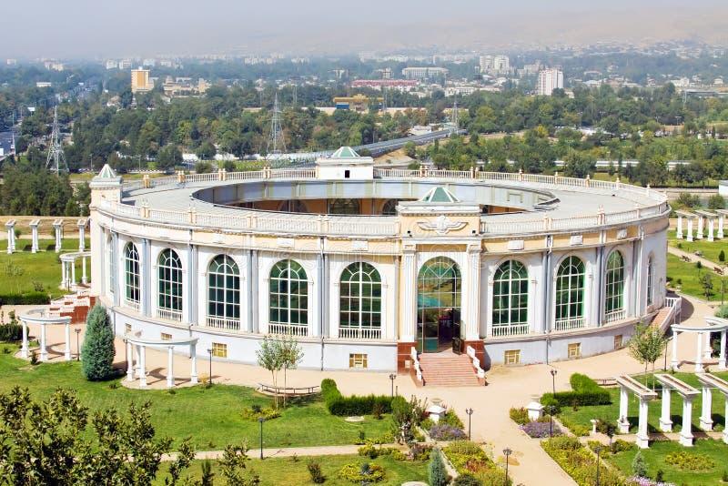 Amphitheatre che sviluppa vista aerea fotografia stock