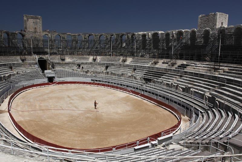 Amphitheatre d'Arles photo libre de droits
