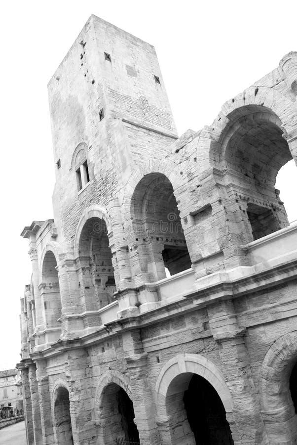 Amphitheatre dans Arles photo libre de droits