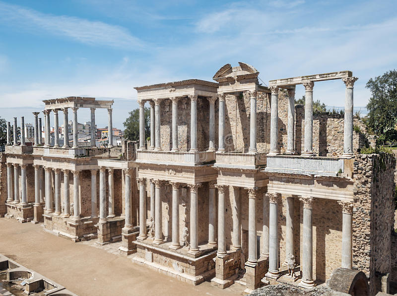 Download Amphitheatre Of Emerita Augusta Stock Image - Image: 30493889