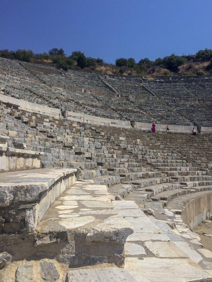 Amphitheatre Ephesus IZMIR/TURKEY obraz royalty free
