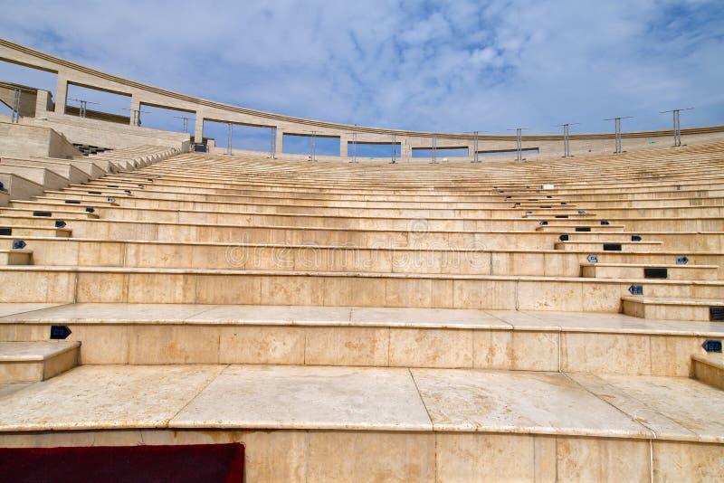 Amphitheatre in Katara Village in Doha, Qatar. An Amphitheatre in Katara Village in Doha, Qatar royalty free stock photography