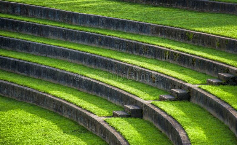 Amphitheatre Plenerowy miejsca siedzące zdjęcie royalty free