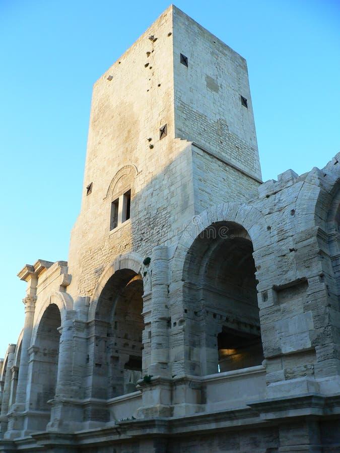 Amphitheatre Romain, Arles (Frankreich) stockfotografie