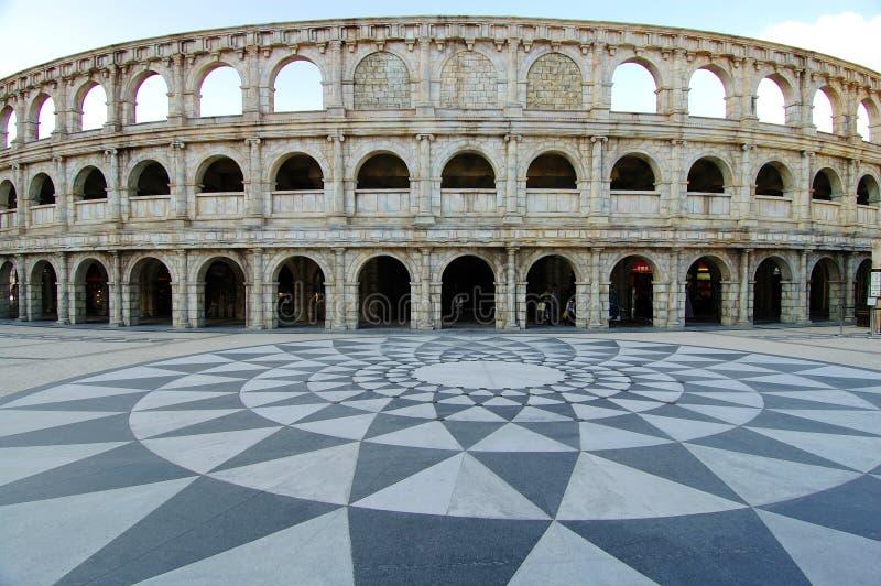 Amphitheatre romano foto de stock