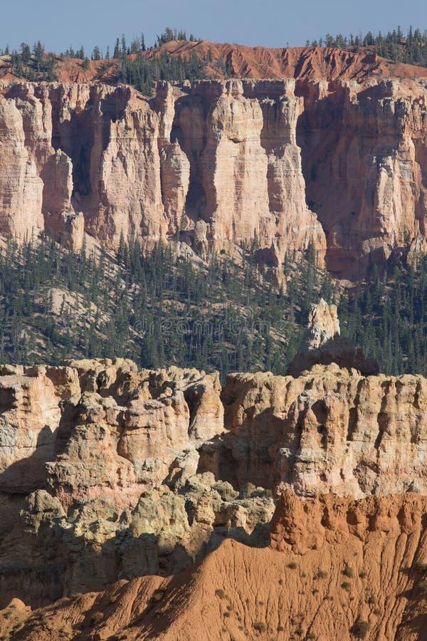 Amphitheatres каньона Bryce стоковые фото