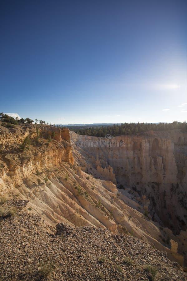 Amphitheatres каньона Bryce стоковые изображения rf
