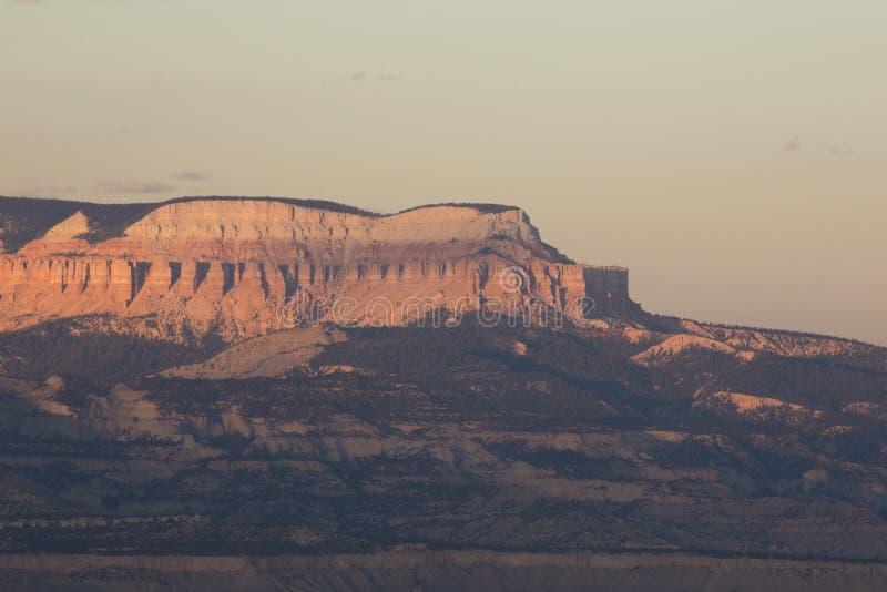 Amphitheatres каньона Bryce стоковое изображение