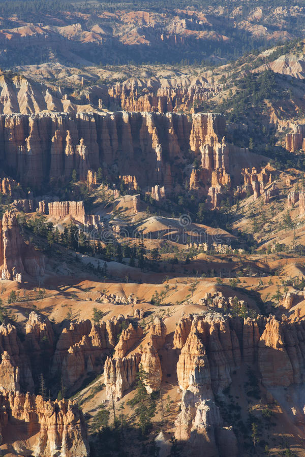 Amphitheatres каньона Bryce стоковые фотографии rf