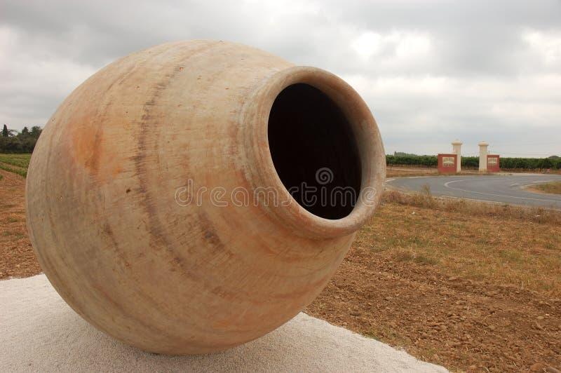 Amphora grande fotografía de archivo