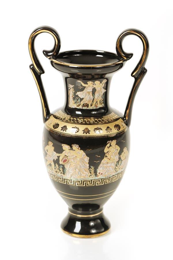 Amphora greco fotografia stock